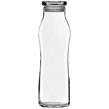 Item 701 - Bình nước thủy tinh Trend Swerve Bottle With Lid - 565ml