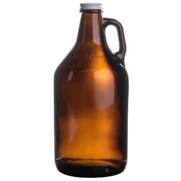 Item 70217 - Bình đựng bia thủy tinh Amber có nắp - 1888ml