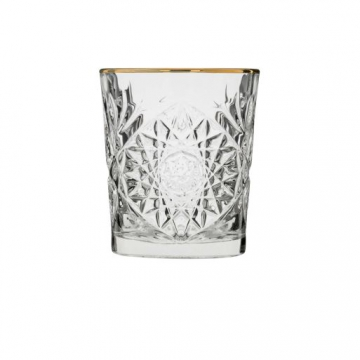 Item 929348 - Ly Cocktail Hobstar DOF Gold Rim - 350ml