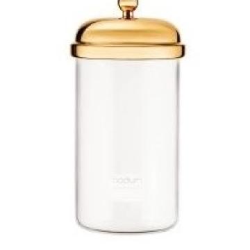 Item 11654-17_ Hũ thủy tinh Classic - Gold - 1L