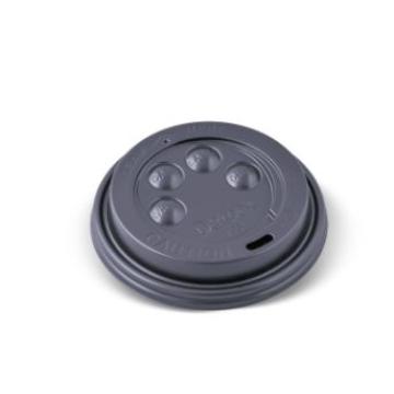 Item V053S0029 - Nắp đen cho ly 2 lớp 8oz - Hot Cup Lid - BLACK - 8oz