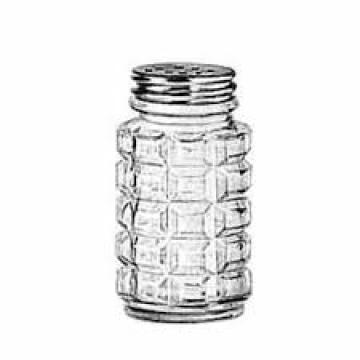 Item 5045 - Hũ thủy tinh Shaker, Alumininum Top - 59ml