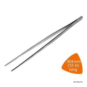 Item 46/X-003_ Long Tweezers -Chrome - Dụng cụ gắp