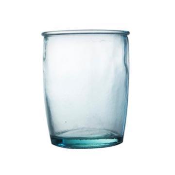 Item V2210 - Lọ thủy tinh tái chế đựng bàn chải VASO BAÑO 430ml
