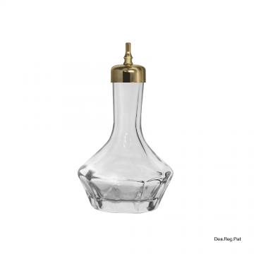 Item 46/X-043-G_ Bitters Bottle - Gold - 50ml