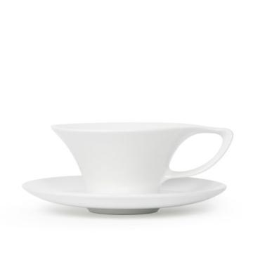 Item CALAWHT165CS - Cala Teacup & Saucer - 165ml