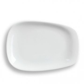 Item LINOWHTPULLG - LINO Pulled Plate, Large