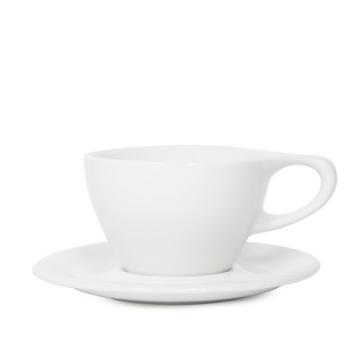 Item LINOWHT240CS  - LINO Small Latte Cup/Saucer - White - 240ml