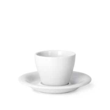 Item MENOWHT90CS - MENO Espresso Cup/Saucer - White - 90ml
