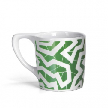 Item LINOSPG300C - Lino coffee mug Spinne Green - 300ml