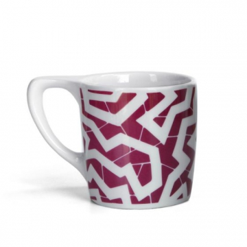 Item LINOSPR300C - Lino coffee mug Spinne Burgundy - 300ml