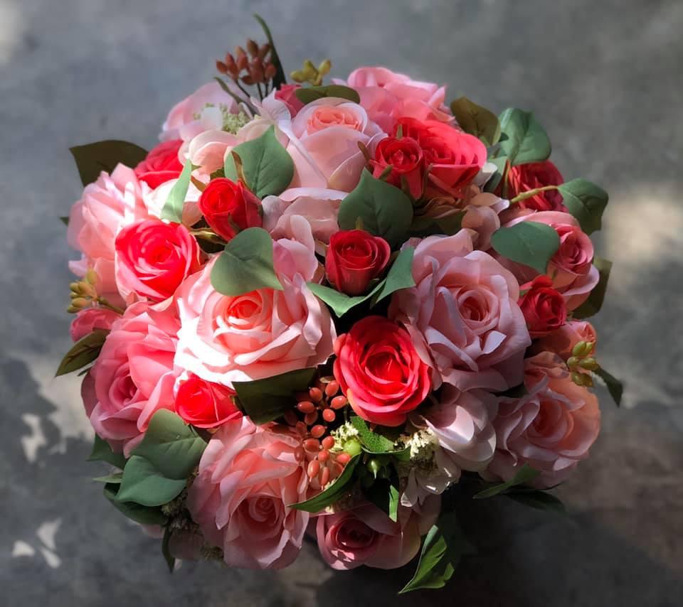 Hoa lụa Khloris - Sang trọng và lãng mạn, tràn đầy cảm xúc