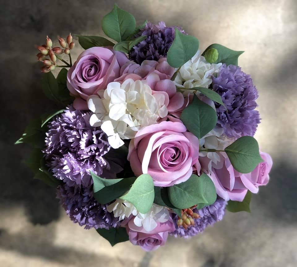 Hình ảnh: Hoa lụa Khloris - sang trọng đầy lãng mãn cho người ấy